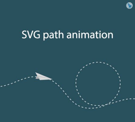 SVG path animation - w3codemasters