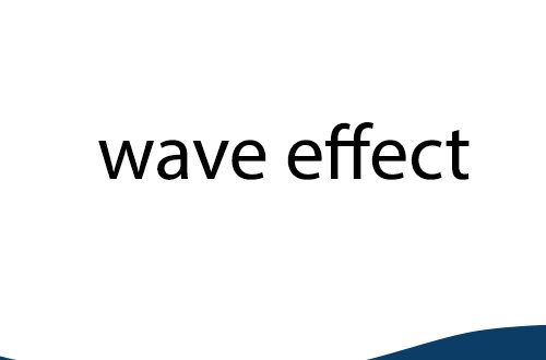 css3 wave effect