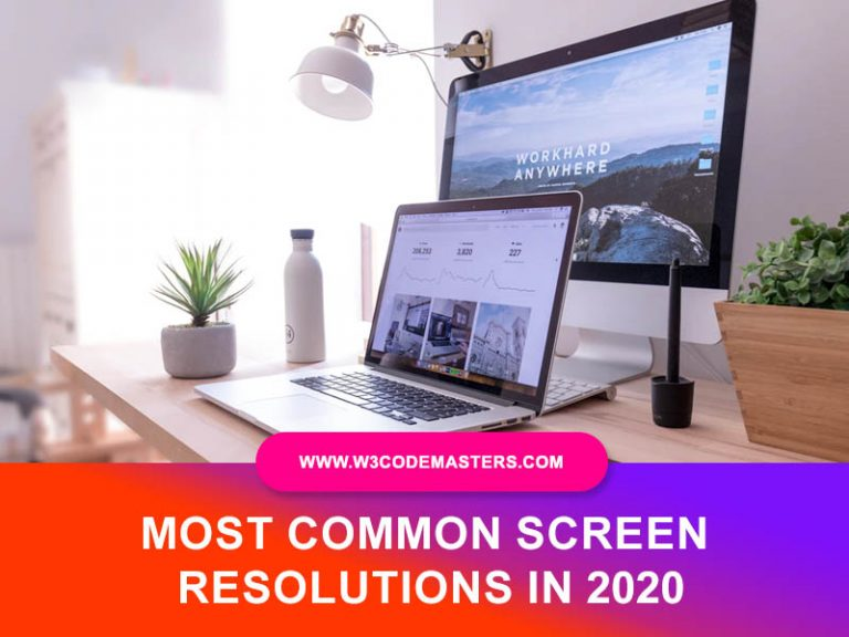 Most Common Screen Resolutions