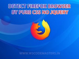 detect-Firefox-browser-by-css
