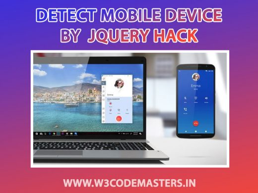 detect mobile device by javascript
