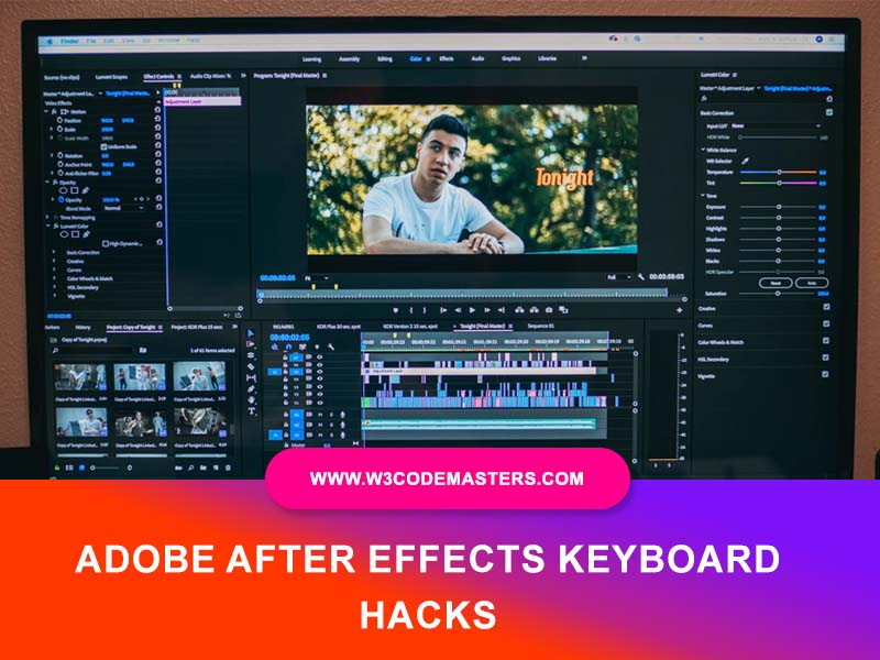 Adobe After Effects keyboard hacks
