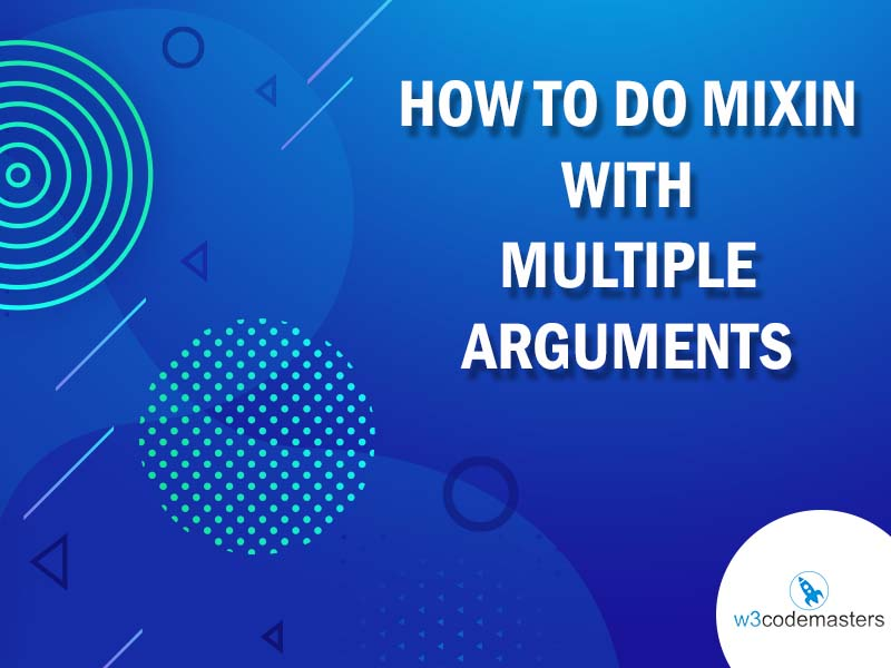 mixin with multiple arguments