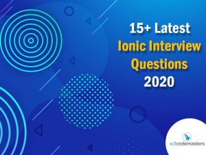 ionic4 interview questions