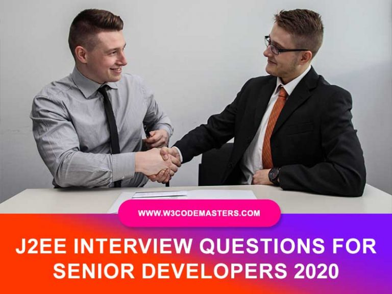 J2EE INTERVIEW QUESTIONS W3CODEMASTERS