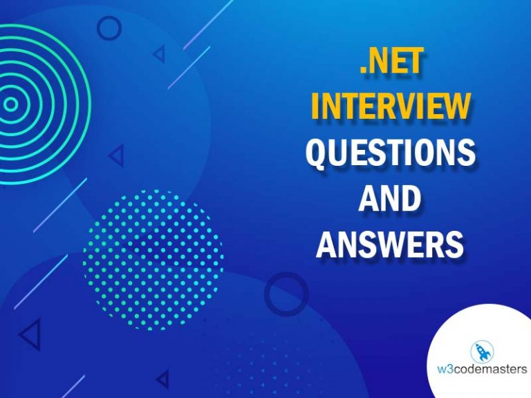 NET INTERVIEW QUESTIONS AND ANSWERS