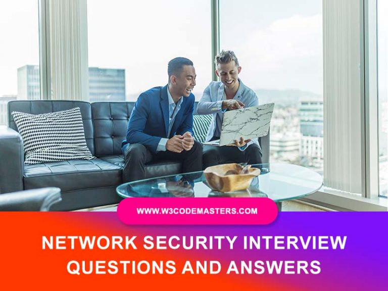 Network Security Interview Questions and Answers