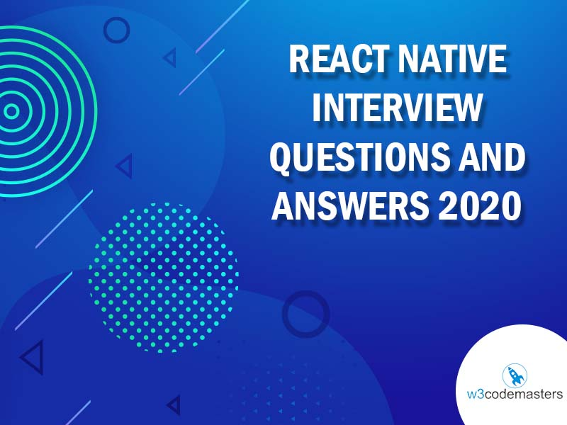 React Native Interview Questions And Answers