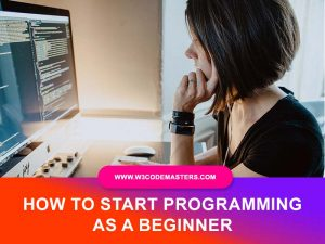 Start Programming As A Beginner