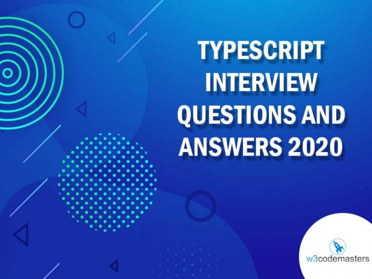 TYPESCRIPT INTERVIEW QUESTIONS AND ANSWERS