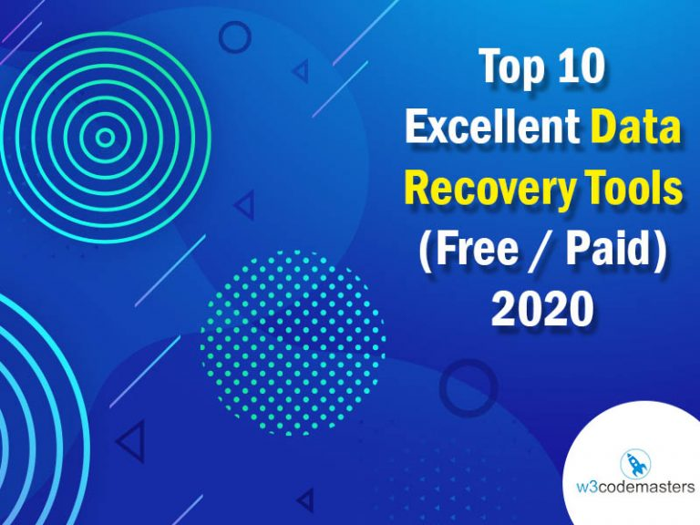 Top 10 Excellent Data Recovery Tools