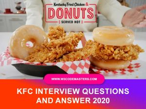 kfc interview questions