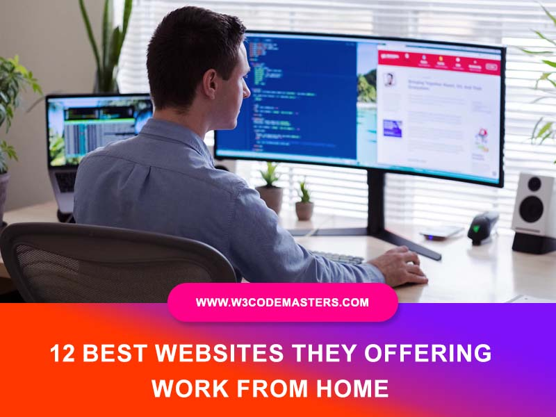 Best Websites They Offering Work From Home