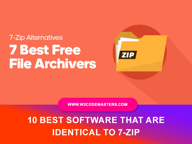Best Software That Are Identical To 7-Zip
