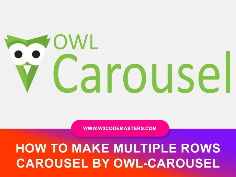 Owl-Carousel Multiple Rows Live Example