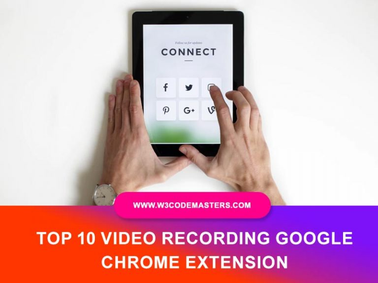 Video Recording Google Chrome Extension