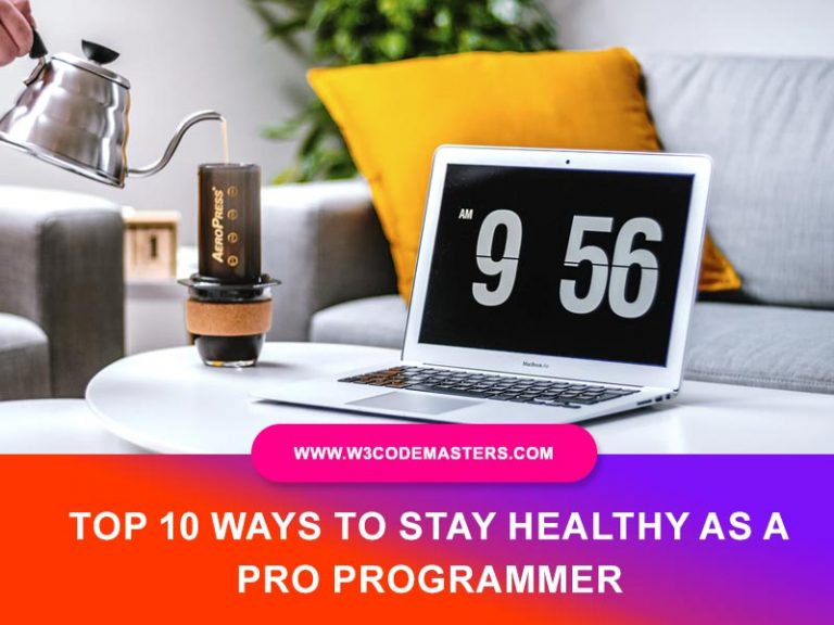 stay healthy as a programmer