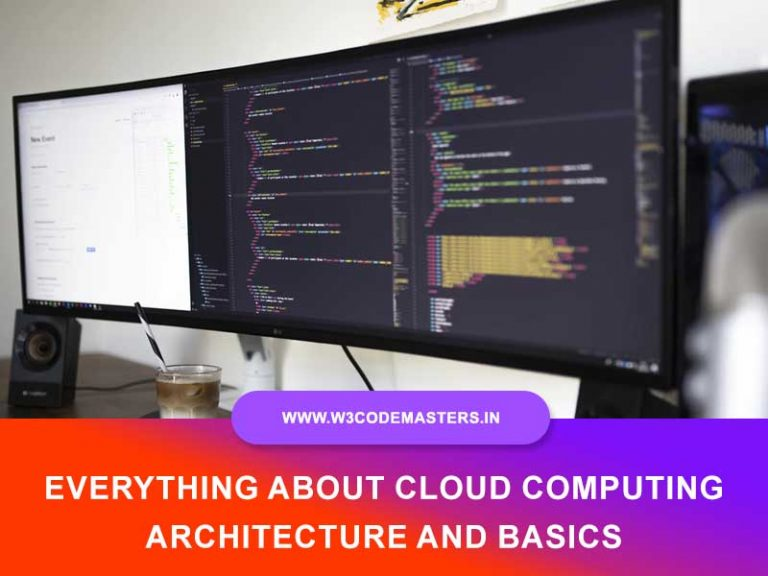 Everything About Cloud Computing Architecture And Basics
