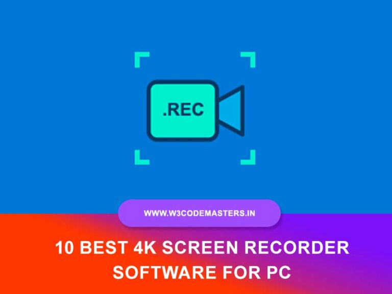 10 Best 4k Screen Recorder Software for PC