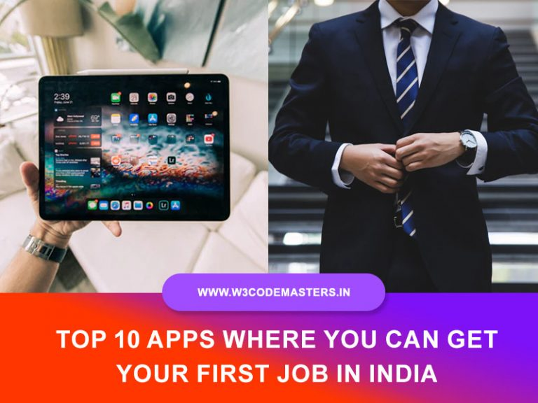 Top 10 Apps Where You Can Get Your First Job In India