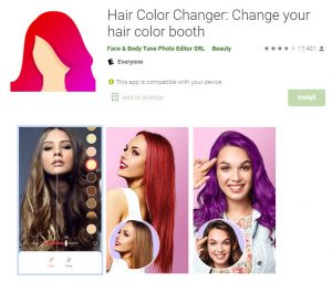 Top 10 Apps To Change Hair Color Make Them Stylish