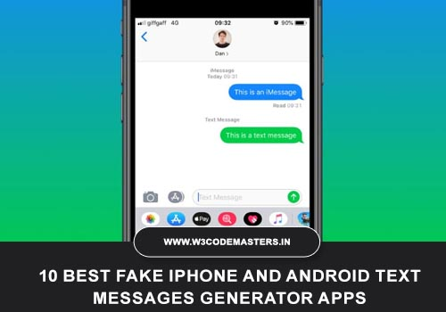 10 Best Fake Iphone And Android Text Messages Generator Apps 2021